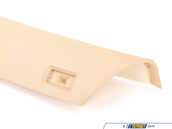 T#102704 - 51433449931 - Genuine BMW Left Column A Cover Sandbeige - 51433449931 - E83 - Genuine BMW -