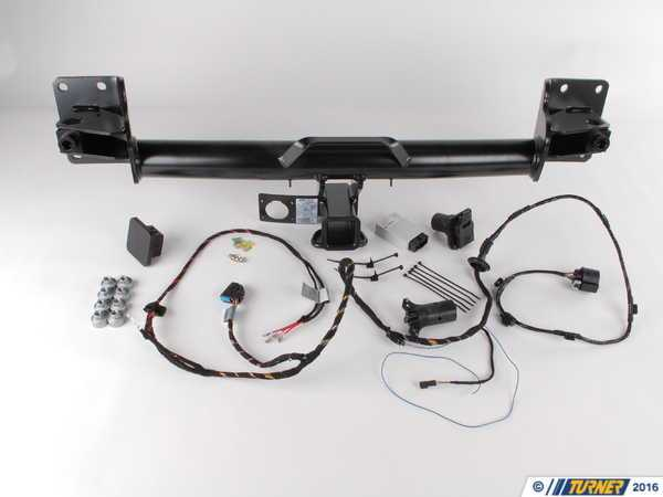 T#12434 - 71602156525 - Genuine BMW Trailer Hitch Kit E70 X5 - 71602156525 - Genuine BMW -