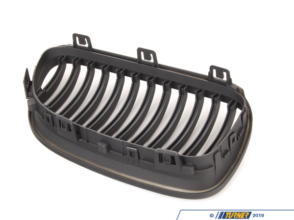 T#378085 - BM01-9210-B - Matte Black Center Grills - E92 E93 03/2010+ (except M3) - ECS - BMW