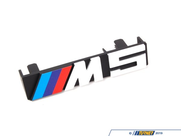 T#8848 - 51142230389 - E34 M5 Front Grill Emblem - This is the Genuine BMW M5 front grill emblem.This item fits the following BMWs:1991-1993  E34 BMW M5 - Genuine BMW - BMW