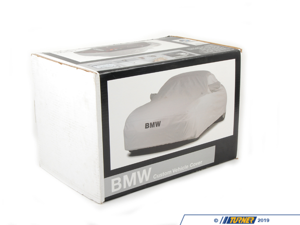 "T#5593 - 82110417916 - Genuine BMW Car Cover - E70 - X5 3.0si X5 4.8i xDrive35i X5M -  Get a car cover that is custom fit for your BMW, not some generic one size fits all available from other suppliers.  This Genuine BMW car cover is custom fit specifically for the E70 X5 chassis. It features the BMW lettering on the front.   NOAH barrier fabric actually stops water, yet it ""breathes"" to allow any trapped moisture, seam seepage or condensation to easily evaporate.  The unique construction process (patent pending) results in a cover with maximum all-weather protectionhighly water resistant, dust resistant, UV resistant and breathable to make sure moisture and/or heat don't stay under the cover.  Made in the U.S. the fabric weighs only 4.75 oz./sq. yd., so it's easy to handle and fold.Protective Outer Layers - A bi-component spunbond, using sheath-core technology.  The inner core is polypropylene for strength, with a polyethylene wrap for softness.  A silver-gray color was selected because of its heat-resistant properties.  The fabric is also treated with UV inhibitors for extended outdoor use.Micro-Porous Middle Layer - The barrier layer is breathable film, a proprietary stretch-film technology.  The film is stretched and subjected to a chemical process that creates microscopic holes smaller than droplets of water or dust, yet large enough to allow moisture vapor to escape.Soft, Paint-Protecting Inner Layer - A bi-component fabric made with polyethylene and nylon.  This combination results in an exceptionally high strength-to-weight ratio, with the ""soft touch"" necessary for today's water-based paint finishes.This car cover fits the following BMWs:2007-2013  E70 BMW X5 3.0si X5 4.8i X5 xDrive30i X5 xDrive35d X5 xDrive35i X5 xDrive48i X5M - Genuine BMW - BMW"