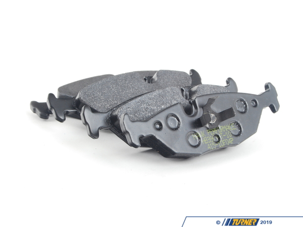 T#2511 - TMS2511 - Hawk HT10 Race Brake Pads - Rear - E30 325/318 - The Hawk HT10 compound combines the high torque levels of the aggressive Hawk Blue with a revised friction compound that makes it easier to modulate and wears nicer on rotors. The HT10 remains consistent over a wide range of temps and can even work when cold. It's been a popular pad for racers looking for the performance of a Hawk Blue but is not as harsh on rotors.Features and Characteristics:+ very high torque performance+ high temp range+ up to 1300*F+ mild abrasive metallic content does not require high heat to work+ excellent modulation at high temps+ a 'friendly and easy' pad to useThis item fits the following BMWs:1984-1991  E30 BMW 318i 318is 318ic 325e 325es 325i 325ic 325is 325ix  - Hawk - BMW