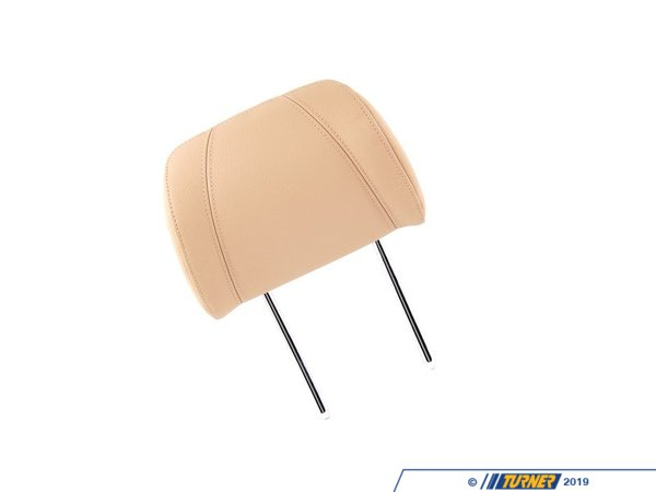 T#123935 - 52107147480 - Genuine BMW Headrest Leather Beige - 52107147480 - E90 - Genuine BMW -