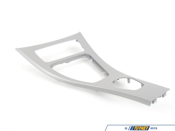 T#82814 - 51166970137 - Genuine BMW Cover Center Console Titan 90 - 51166970137 - E90 - Genuine BMW -