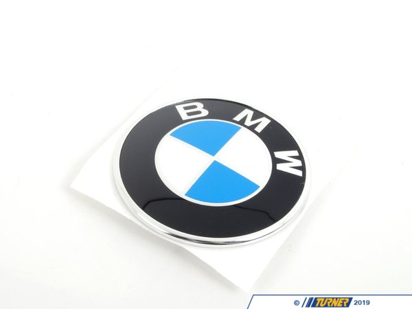 T#81333 - 51148164928 - Genuine BMW Badge - 51148164928 - E36 - Genuine BMW -