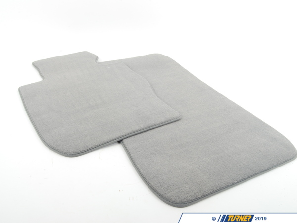 T#112332 - 51477316572 - Genuine BMW Set Of Floor Mats Velours Grau - 51477316572 - E90 - Genuine BMW -