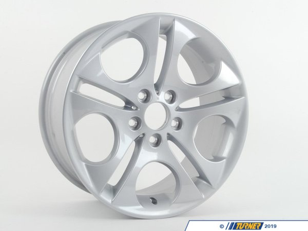 "T#23146 - 36116758192 - 18"" Ellipsoid Stye 107 Wheels - E85, E86 - Genuine BMW Light Alloy Rim - 18x8 ET47