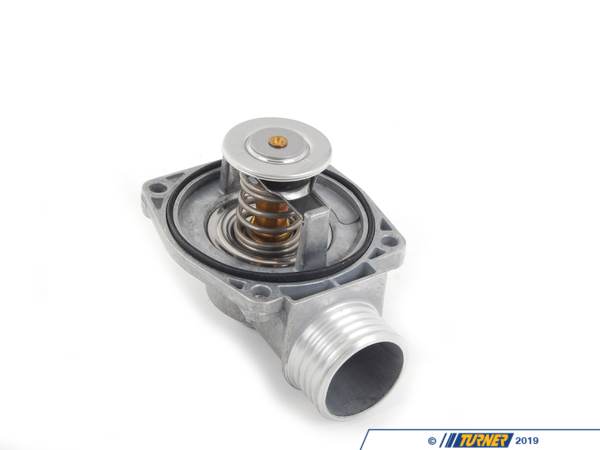 T#2256 - 11531704704 - Thermostat M73 - E38 750il E31 850ci 1995-1998 - Don't take chances! Proper maintenance is required to keep your BMW performing at peak levels. The thermostat basically controls when your car will overheat. Don't let it fail on you. This thermostat fits BMW E38 750il and E31 850iManufacturing OE-grade replacement cooling parts is Wahlers specialty. When you need to replace a component in your vehicles water system, high grade, and long-lasting parts from Wahler ensure the job is done properly the first time.This item fits the following BMWs:1995-1998  E38 BMW 750il1995-1998  E31 BMW 850ci w M73 engine - Wahler - BMW
