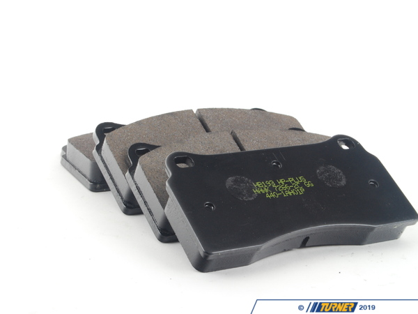 Hawk Brembo Calipers F40, F50, B, H, GT1 - Race/Street Brake Pad Set - Hawk HP Plus TMS1641