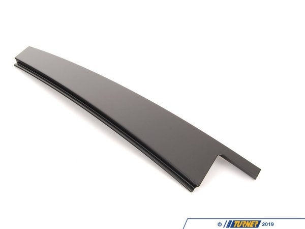 T#94265 - 51357136955 - Genuine BMW Finisher Window Frame B-pill - 51357136955 - Schwarz - Genuine BMW -