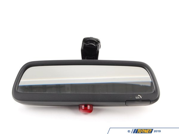 T#83570 - 51167124708 - Genuine BMW Rearview Mirror, Manual / Led Sos - 51167124708 - E46 - Genuine BMW -