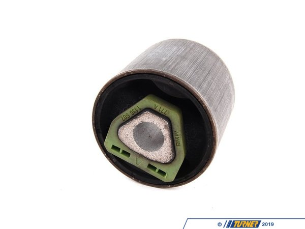 T#7706 - 31121136607 - Genuine BMW Front Axle Rubber Mounting Rod 31121136607 - Genuine BMW -