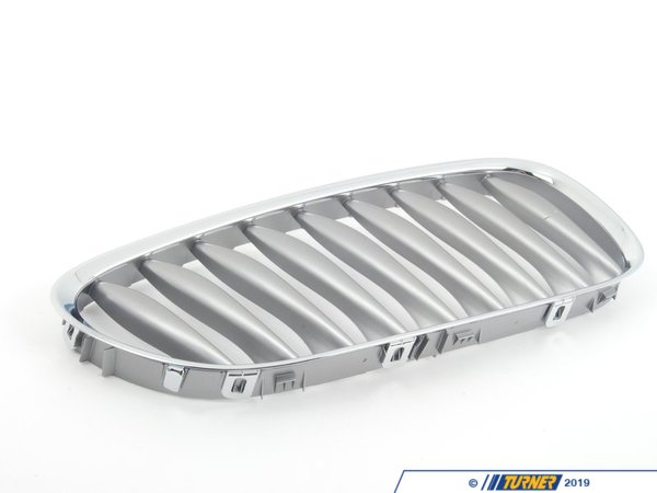 T#23310 - 51117117758 - Genuine BMW Grille Right Graphit - 51117117758 - E85 - Genuine BMW -