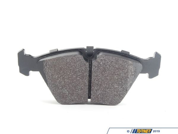 T#1883 - TMS1883 - Hawk HT10 Race Brake Pads - Front - E32, E34, E36 M3, E46 M3, E39 528i, MZ3 - The Hawk HT10 compound combines the high torque levels of the aggressive Hawk Blue with a revised friction compound that makes it easier to modulate and wears nicer on rotors. The HT10 remains consistent over a wide range of temps and can even work when cold. It's been a popular pad for racers looking for the performance of a Hawk Blue but is not as harsh on rotors.Features and Characteristics:+ very high torque performance+ high temp range+ up to 1300*F+ mild abrasive metallic content does not require high heat to work+ excellent modulation at high temps+ a 'friendly and easy' pad to useThese Front Hawk HT10 Race Brake Pads fit the following BMWs:1988-1994 E32 BMW 735i, 735il, 740i, 740il 750il1989-1995 E34 BMW 525i, 530i, 535i, 540i, M51995-1999 E36 BMW M31997-1998 E39 BMW528i1997-2002 Z3 BMW Z3 M Roadster/ M Coupe including S52 and S54 versions2001-2002 E46 BMW M3 - Hawk - BMW