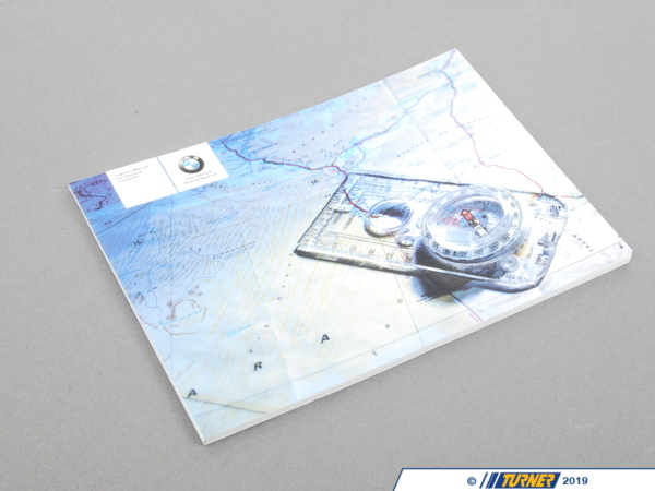 T#26596 - 01410159798 - Genuine BMW Owner's Handbook, Navi Professional - 01410159798 - E46 - Genuine BMW -