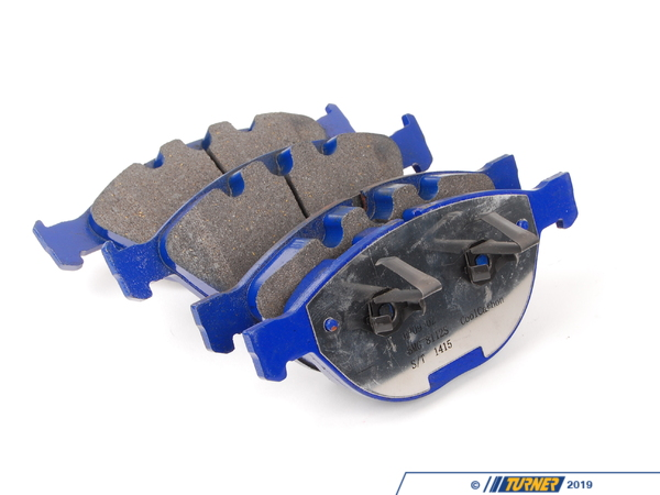 T#379044 - 7821-D1151 - E60 M5, E63 M6 Front Cool Carbon S/T Performance Brake Pad Set - Cool Carbon Performance -