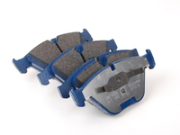 E60 Xi, E82 1M, E84 X1, E9X 335/M3 Front Cool Carbon S/T Performance Brake Pad Set