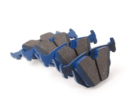 E38, E39, E46 330/M3, E53, Z4 Rear Cool Carbon S/T Performance Brake Pad Set