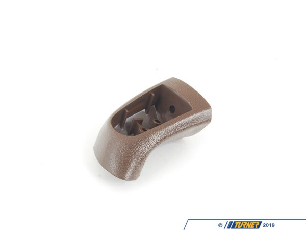 T#95485 - 51411902634 - Genuine BMW Armrest Upper Part Front Right Mocca - 51411902634 - Genuine BMW -