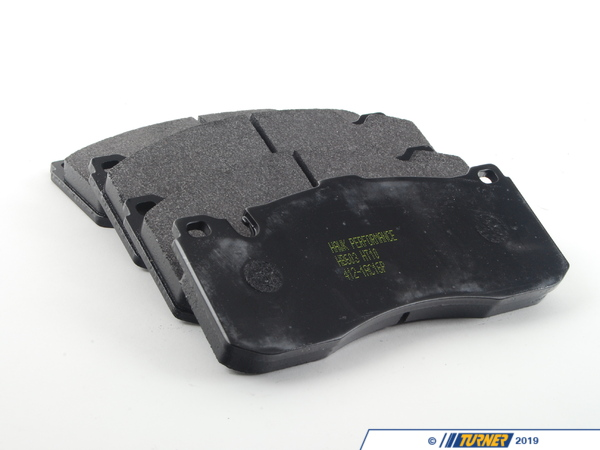 T#564 - TMS564 - Hawk HT10 Race Brake Pads - Front - E82/E88 135i - Hawk - BMW