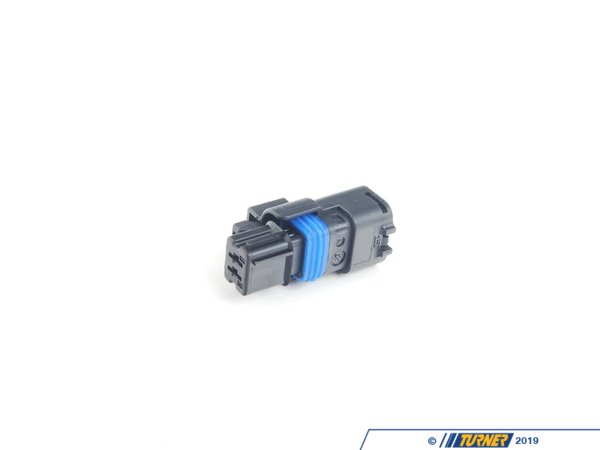 T#40565 - 12527542849 - Genuine MINI Socket Housing 2 Pins Schwarz - 12527542849 - Genuine MINI -