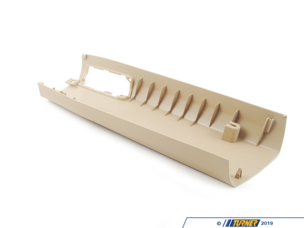 T#102812 - 51436966765 - Genuine BMW Left Lower Column A Cover - 51436966765 - Savannabeige - Genuine BMW -