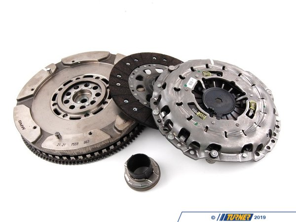T#48880 - 21207562945 - Genuine BMW Dual-Mass Flywheel With Clutch - 21207562945 - E63 - Genuine BMW -