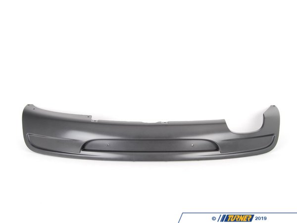 T#78836 - 51128045455 - Genuine BMW Trim Panel, Bumper, Rear, Bottom -M- - 51128045455 - E82 - Genuine BMW -