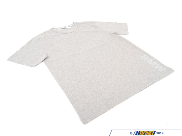 T#176654 - 80142298076 - Genuine BMW T-Shirt For Men Grey, Xl - 80142298076 - Genuine BMW -