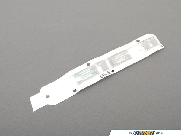 T#81091 - 51147025180 - Genuine BMW Emblem Adhered Rear 316Ti - 51147025180 - Genuine BMW -