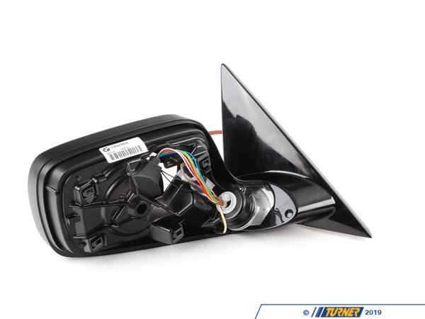T#21021 - 51167892068 - Genuine BMW Outside Mirror Heated With M 51167892068 - Gloss Black - Genuine BMW -