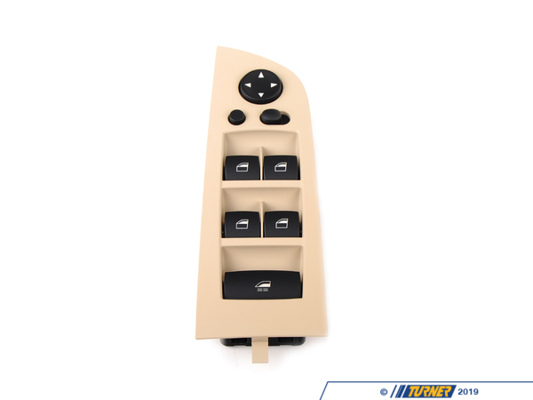 T#143429 - 61319217367 - Genuine BMW Window Lifter Switch, Driver - 61319217367 - Beige - Genuine BMW -