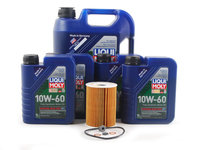 T#555450 - LM0CK25KT - Liqui Moly Synthoil Race Tech GT1 10w-60 Oil Service Kit - E60 E63 E64 M5 M6 (S85) - Packaged by Turner - BMW