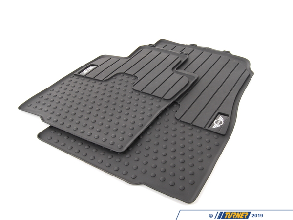 T#24076 - 51472181808 - Genuine MINI All-Weather Mat, Front Lhd,Mini,Black - 51472181808 - Genuine MINI -