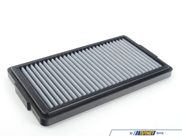 "T#2653 - 31-10048 - aFe ProDry S Air Filter - E30 M3, 84-85 318i, 84-85 325e, 84-85 528e, All E12, E23, E24 (no M), E28 535i/is - This is a drop-in stock replacement aFe performance air filter that installs into your BMW's factory airbox. This particular filter fits the following BMWs:E30 3 series: 318i 325e 1984-1985E30 3 series: M3 1987-1991 E28 5 series : 528e 1984-1985  E28 5 series : 533i 535i 535is 1983-1988 E21 3 series: 320i 1977-1983E12 5 series : 528i 530i 1977-1981E24 6 series :  633csi 635csi 1979-1989This version has an oil-free filter media for less maintenance. For the best flowing filter, with the best performance gain, we always recommend the standard aFe ""Pro5R "" filter (which has a blue pre-oiled filter media), but this oil-free filter flows only slightly less than the blue Pro5R  style aFe filter, and requires no re-oiling after cleaning the filter. - AFE - BMW"