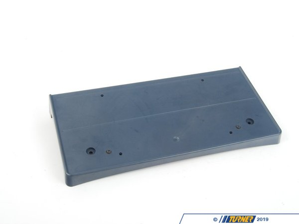 T#16050 - 51117897901 - Genuine BMW Licence Plate Base Primed M - 51117897901,E60 M5 - Genuine BMW -