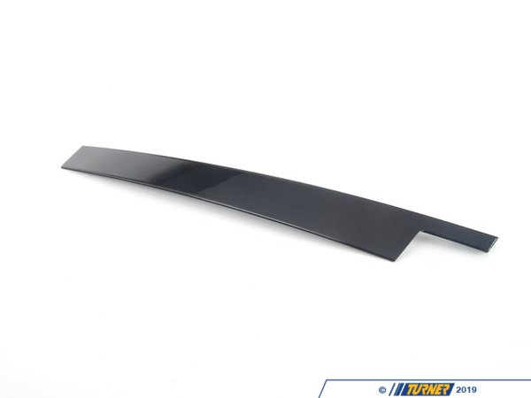 T#93292 - 51337207832 - Genuine BMW Finisher Window Frame B-pill - 51337207832 - Gloss Black - Genuine BMW -