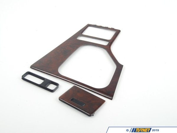 T#85980 - 51168209855 - Genuine BMW Base Of Center Console Nussbaum - 51168209855 - E39,E39 M5 - Genuine BMW -