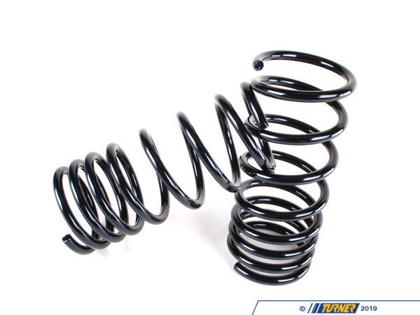 "T#4341 - 50401 - H&R Sport Spring Set - 2002, 2002tii - Lowers 1.25"" Front and 1.25"" Rear Provides superior ride and maximum loweringEnhance the look of your BMW 2002 with a reduced fender well gap. H&R Sport Springs lower the vehicle center of gravity and reduce body roll for better handling. The progressive spring rate design provides superb ride quality and comfort. A lower wind resistance signature will make the vehicle more streamlined and improve gas mileage. If you are only looking to improve one part of your vehicles suspension, you cannot go wrong with installing Sport Springs. Fun to drive, H&R Sport Springs are the number one upgrade for your vehicle.This item fits the following BMWs:1966-1976  E10 BMW 2002, 2002tii - H&R - BMW"