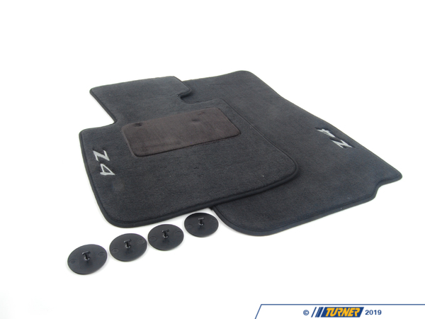 T#6027 - 82112157092 - Genuine BMW E89 Floor Mats - E89 Z4 sDrive30i, sDrive35i, sDrive35is  - Genuine BMW - BMW