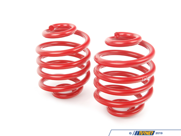 "T#4154 - 29754 - H&R Sport Spring Set - Z3 1.9 - Front Lowering -1.5"" Rear Lowering  -1.25""Enhance the look of your BMW Z3 1.9 with a reduced fender well gap. H&R Sport Springs lower the vehicle center of gravity and reduce body roll for better handling. The progressive spring rate design provides superb ride quality and comfort. A lower wind resistance signature will make the vehicle more streamlined and improve gas mileage. If you are only looking to improve one part of your vehicles suspension, you cannot go wrong with installing Sport Springs. Fun to drive, H&R Sport Springs are the number one upgrade for your vehicle.This item fits the following BMWs:1996-1998  Z3 BMW Z3 1.9i - H&R - BMW"