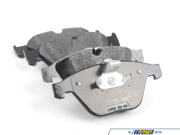 T#178464 - 34112339271 - Genuine BMW Set Of Brake Pads With Wear - 34112339271 - Genuine BMW -