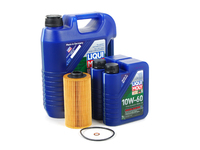 T#555436 - LM0CK7KT - Liqui Moly Synthoil Race Tech GT1 10w-60 Oil Service Kit - E39 M5 E52 Z8 (S62 5.0L) - Packaged by Turner - BMW