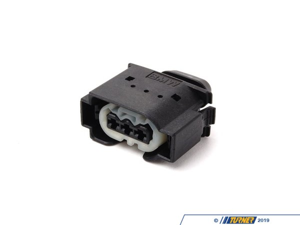 T#40159 - 12521433917 - Genuine BMW Socket Housing 3 Pol. - 12521433917 - E39,E46,E53,E83,E85 - Genuine BMW -