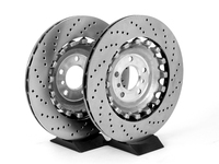 Rear Brake Rotors - F10 M5, F13 M6, F06 M6 (pair)