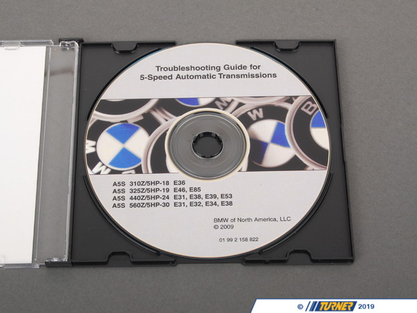 T#27105 - 01992158822 - Genuine BMW Troubleshooting Guide 5 Spd - 01992158822 - Genuine BMW -