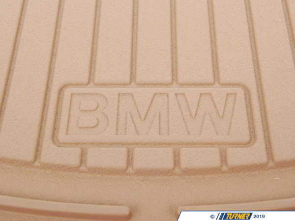 T#109894 - 51470151501 - Genuine BMW Set Rubber Mats Front Beige X5 - 51470151501 - E53 - Genuine BMW -