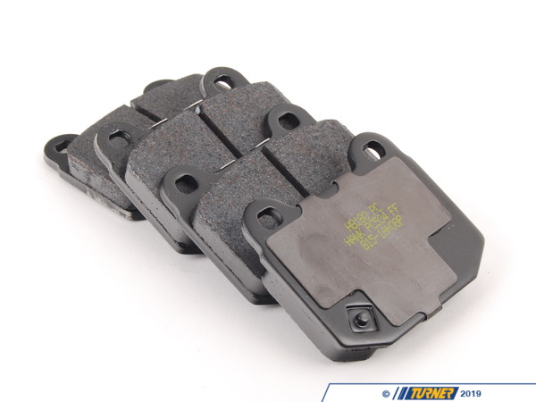 T#16527 - TMS16527 - StopTech Calipers ST22 - Street Brake Pad Set - Hawk Ceramic - Hawk - BMW