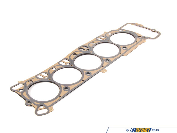 T#31637 - 11127837460 - Genuine BMW Cylinder Head Gasket (Single) - S85 5.0L - Genuine BMW replacement head gasket for a blown leaking head gasket. Leaking head gaskets can cause oil and coolant leaks and cause a milky oil color when the two mix.Fits the left or right side. Two required per car.Genuine BMW Cylinder Head Gasket Asbestos-Free - 0,595MmThis item fits the following BMW Chassis:E60 M5,E63 M6,E63Fits BMW Engines including:S85 - Genuine BMW - BMW