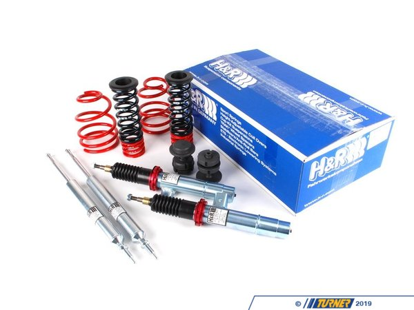 T#333 - 50495 - E90 325xi/328xi/330xi/335xi Sedan H&R Coil Over Suspension - H&R - BMW